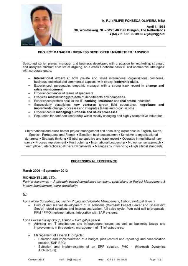 Mckinsey Resume Sample Phd Resume Mckinsey