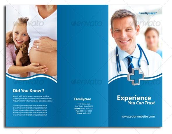 medical brochure design ideas