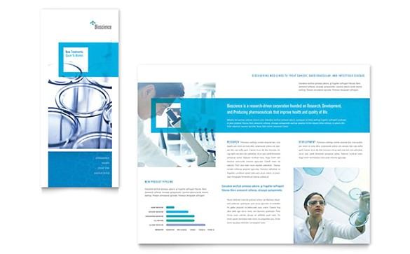 drug brochure template