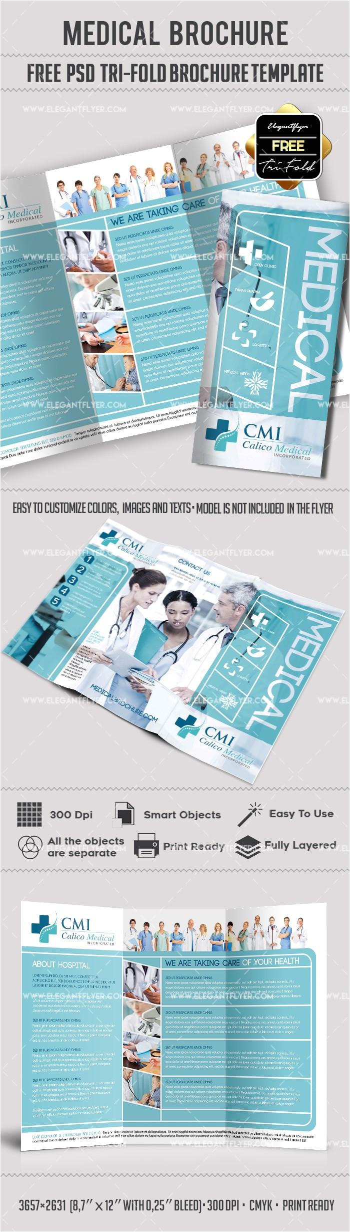 medical tri fold brochure free