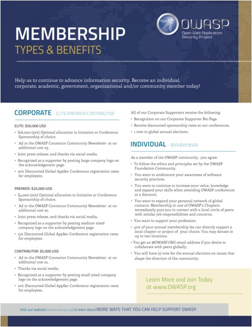 Membership Brochure Template Membership Brochure Template Marketingresources Owasp