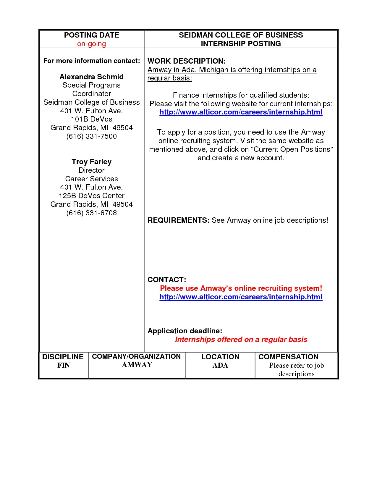 michigan works resume template