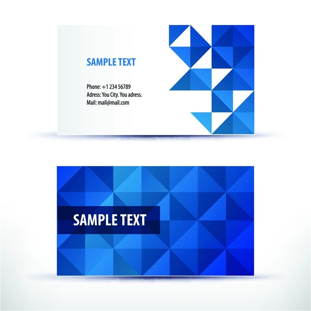 Microsoft Business Cards Templates Free Download Microsoft Business Card Template Free Business Card Idea