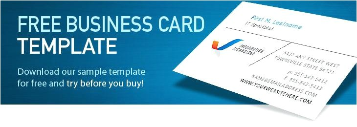 Microsoft Business Cards Templates Free Download Works Business Card Template Download Image Collections