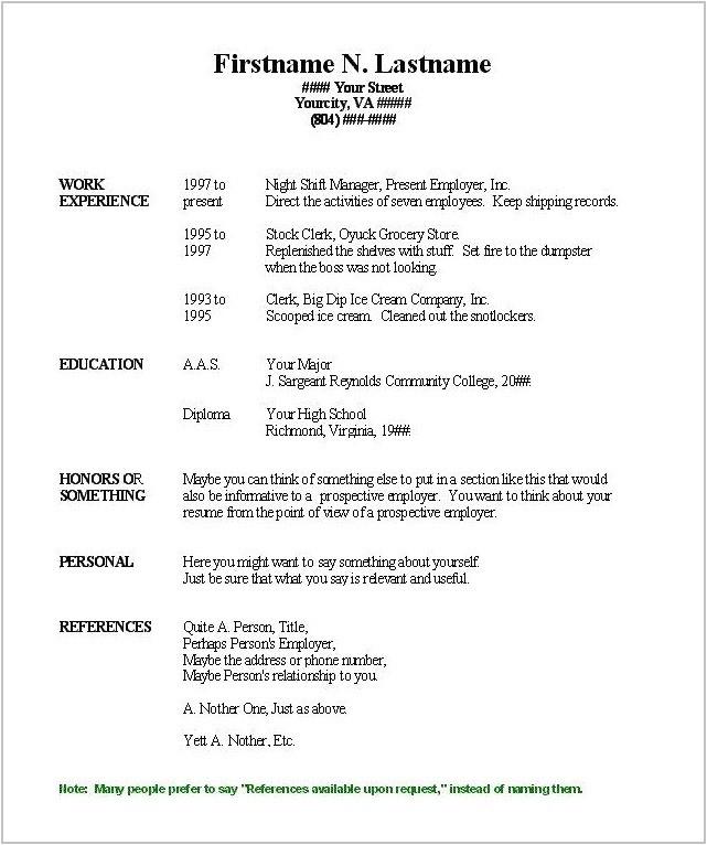 Microsoft Resume Templates 2018 Free Printable Resume Templates Microsoft Word Resume