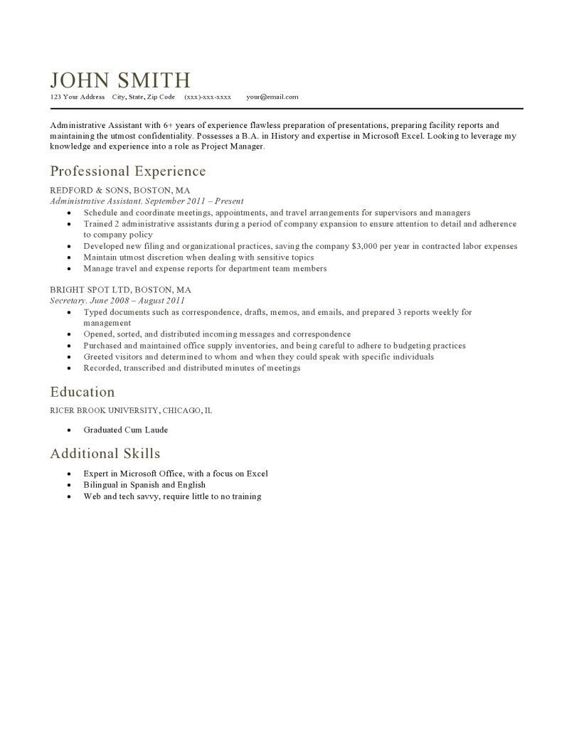 Milano Resume Template Expert Preferred Resume Templates Resume Genius