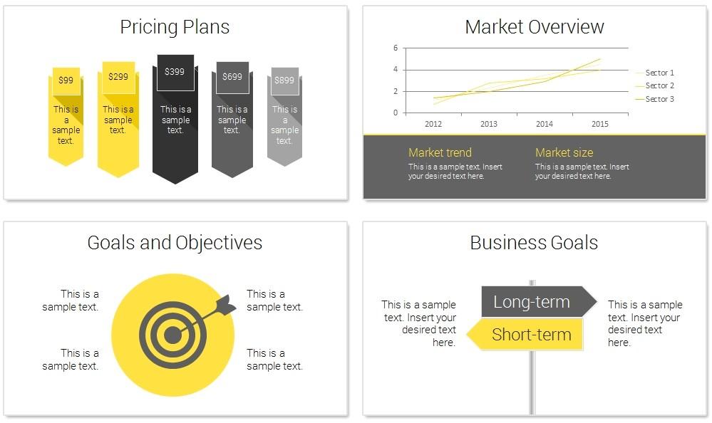 business plan slide deck modern business plan powerpoint template presentationdeck 3