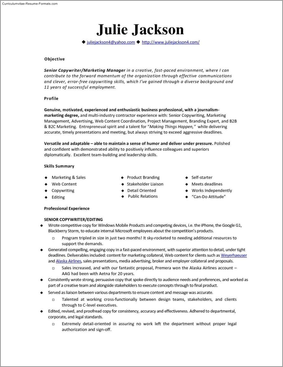 Monster Resume Samples Monster Resume Template Free Samples Examples format