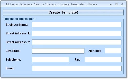 Ms Word Business Plan Template Screenshot Review Downloads Of Shareware Ms Word