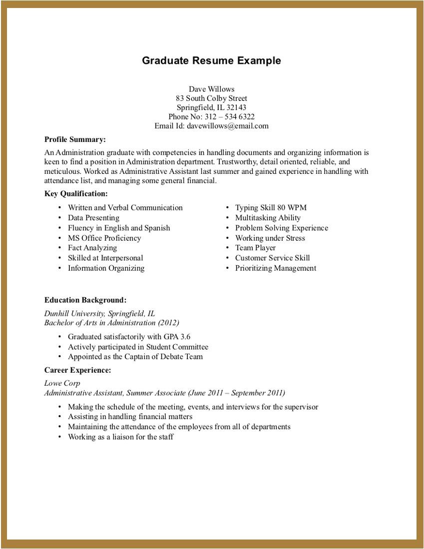 No Experience Resume Sample Experience Resume Template Resume Builder