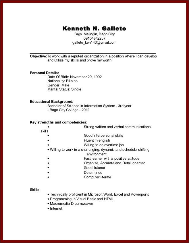 No Experience Resume Sample Sample Resume College Student No Experience Jennywashere Com