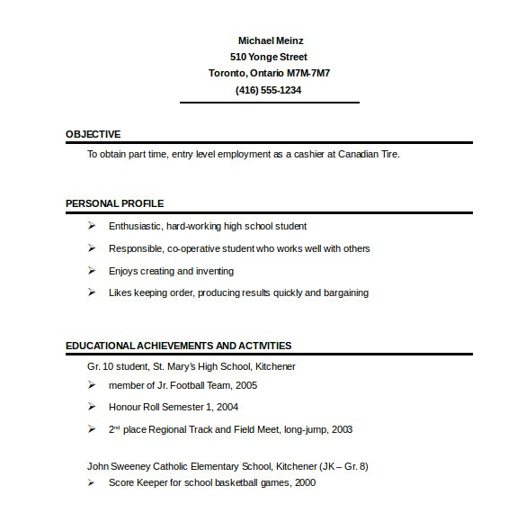 Online One Page Resume Template 41 One Page Resume Templates Free Samples Examples
