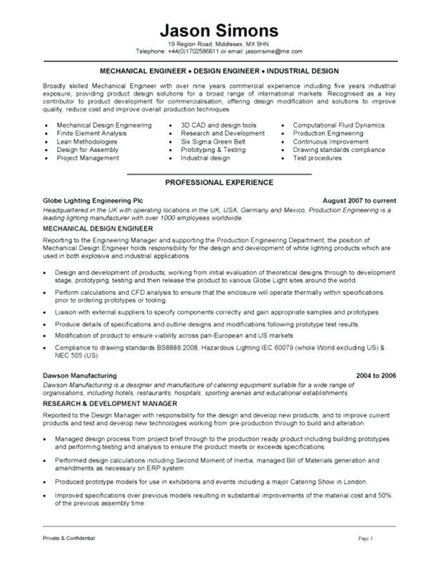 aerospace engineer sample resume 42