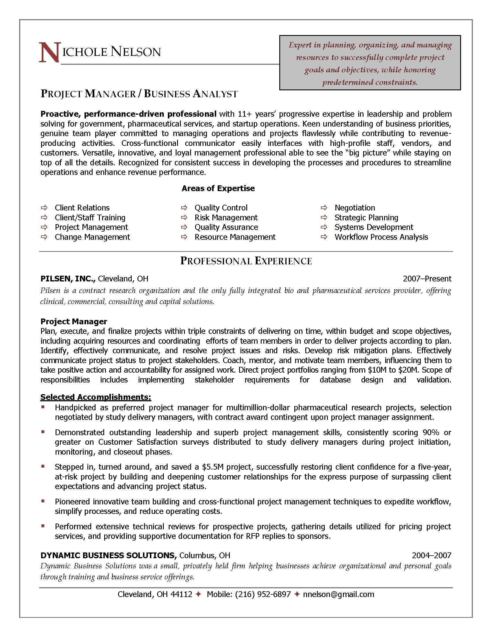 construction project manager resume sample doc 1435