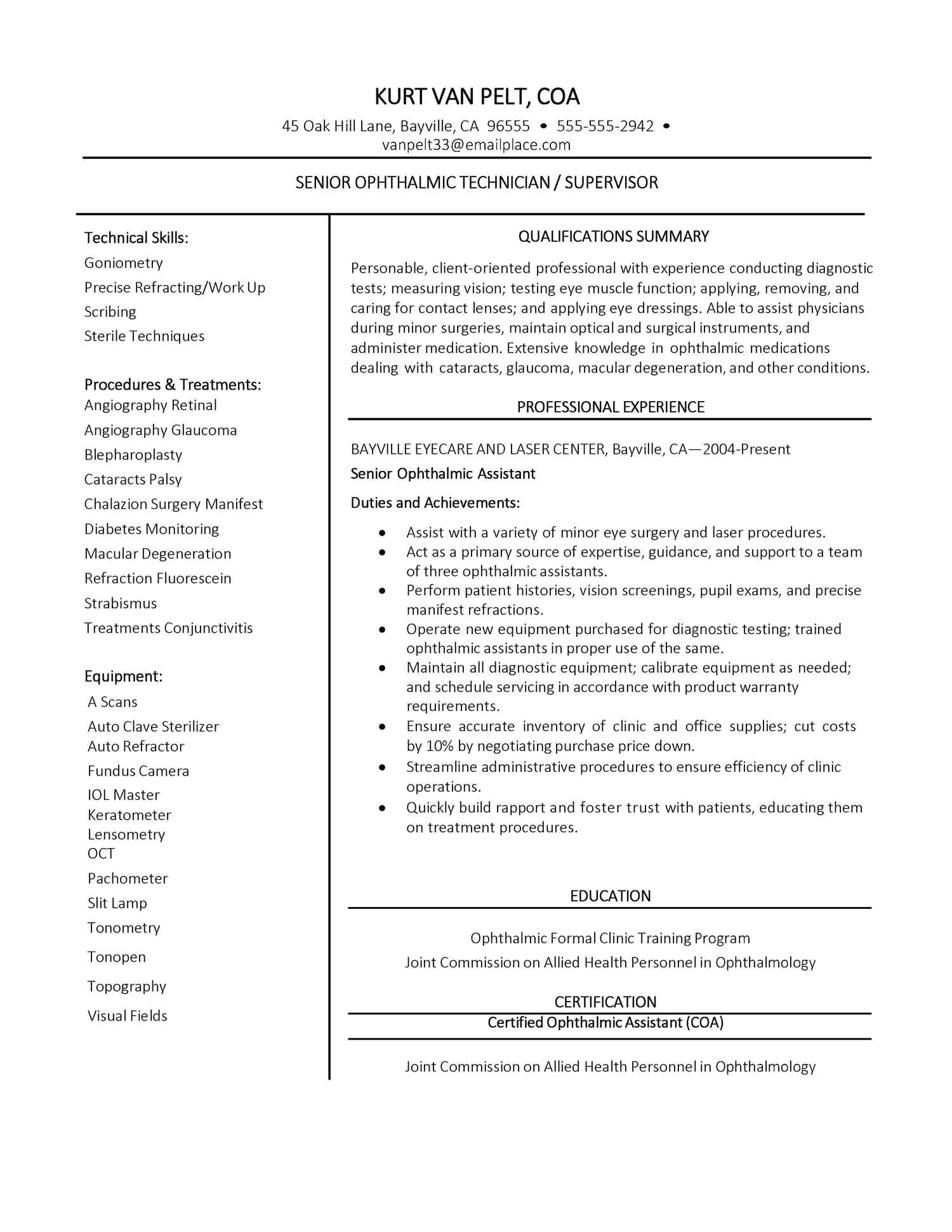 patient care assistant cover letter