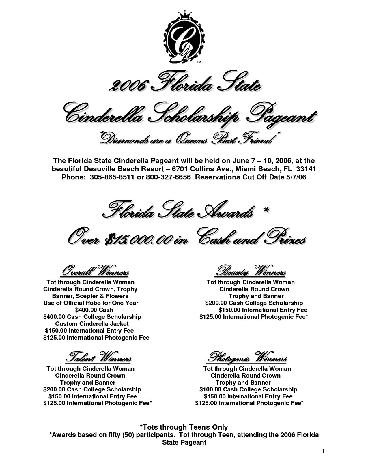 post pageant program template 181876
