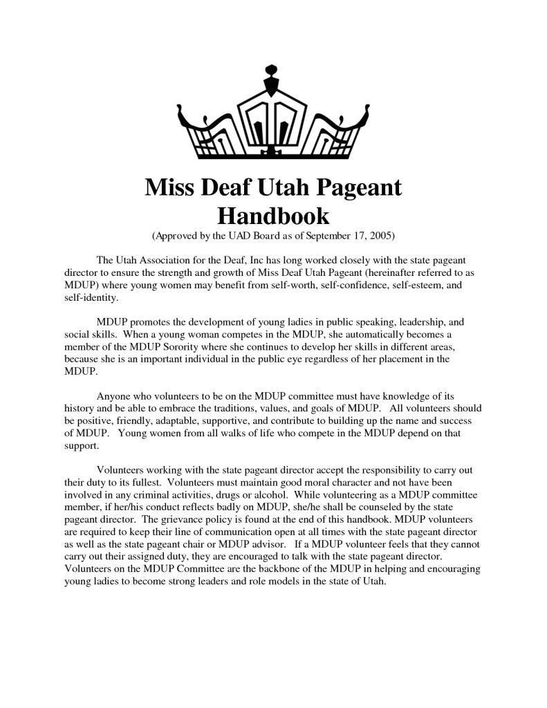 sample pageant sponsor letter
