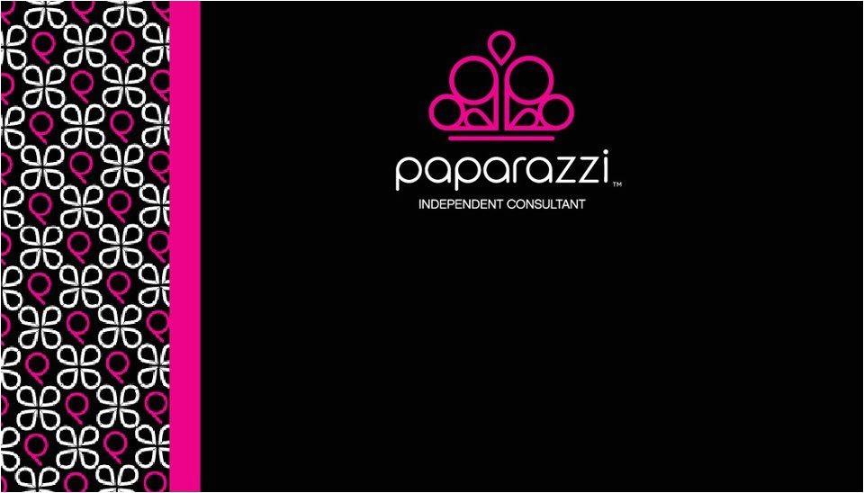 Paparazzi Accessories Business Card Template Pinterest