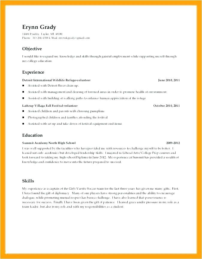 parent volunteer resume sample