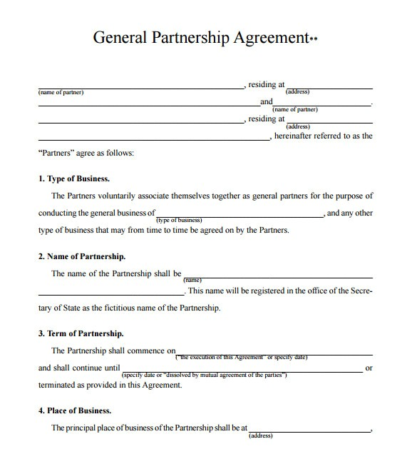 partnership proposal template