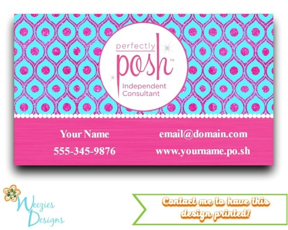 perfectly posh business card direct