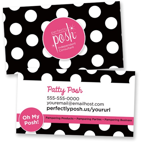 perfectly 20posh 20business 20cards 20templates