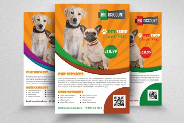 Pet Sitting Brochure Template Free 21 Pet Brochure Templates Psd Vector Eps Jpg Download