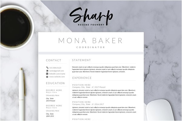 Plug In Resume Templates Resume Templates Creative Market