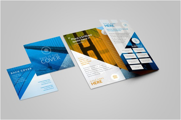 pocket size brochure format templates free