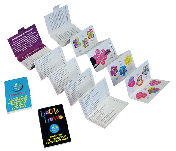 mini brochures small but perfectly formed and perfect for road show and trade show success