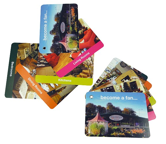 swatch cards one format fits all versatile and interactive marketing ideas