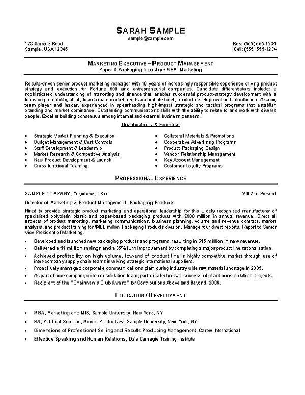 political campaign resume