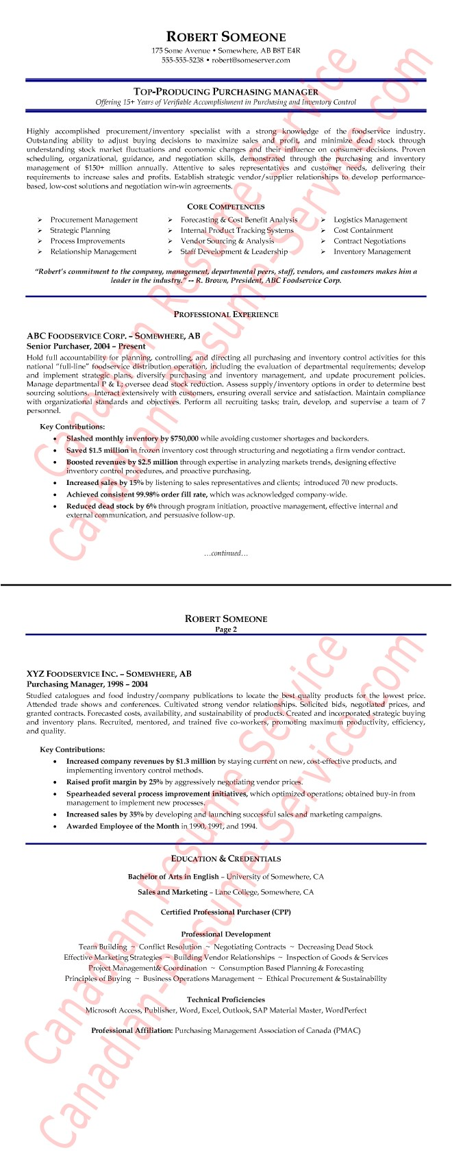 Procurement Buyer Resume Sample Purchasing Manager Resume Example Procurement Executive
