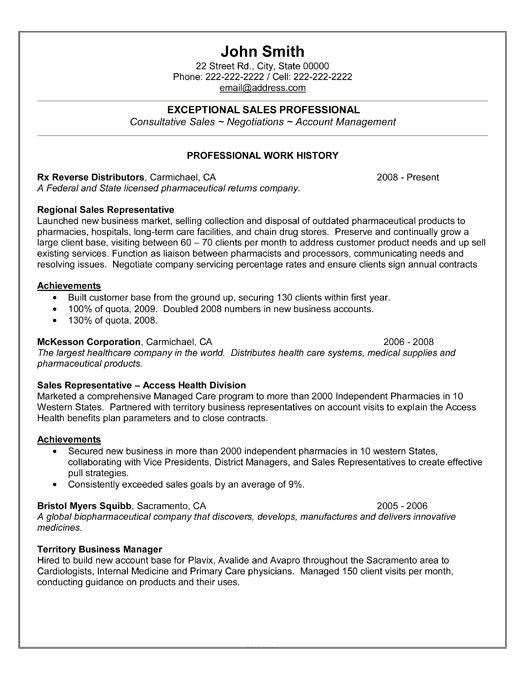 best sales resume templates samples