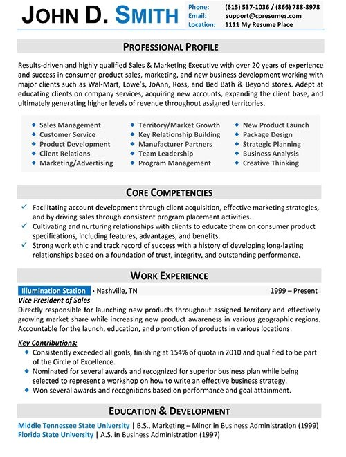 Proffessional Resume Template Resume Samples Types Of Resume formats Examples Templates