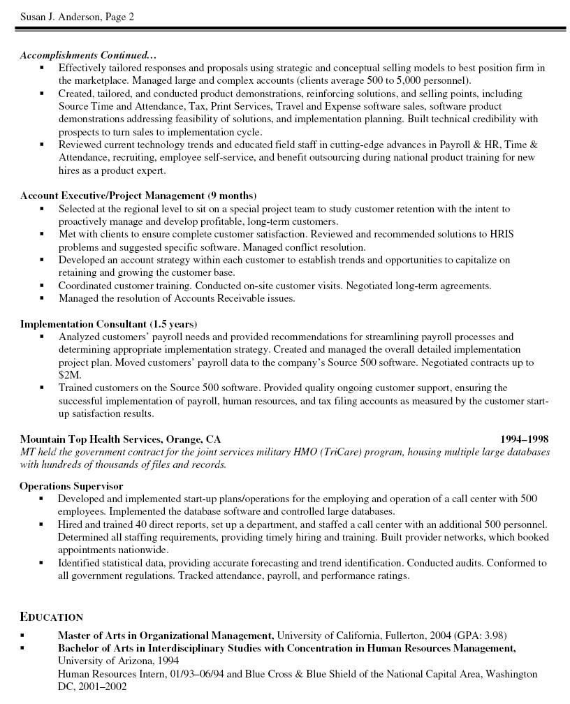 project coordinator resume sample it
