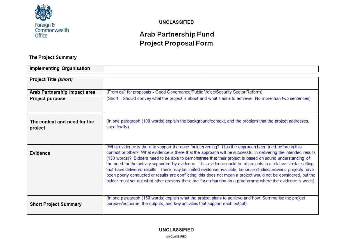 Project Proposals Templates 43 Professional Project Proposal Templates Template Lab