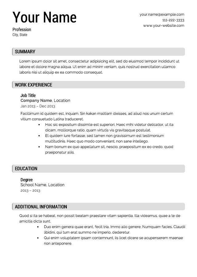 Quickstart Resume Templates Discreetliasons Com Free Resume Builder Canada Packed