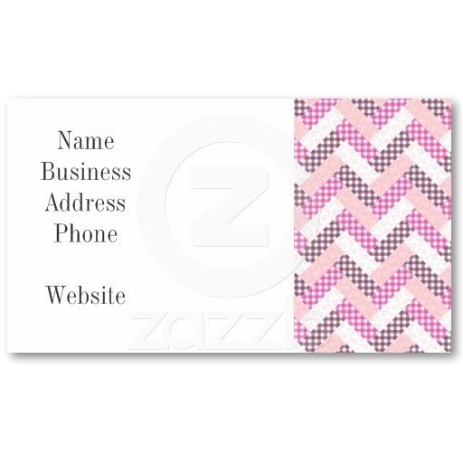 quilters business cards