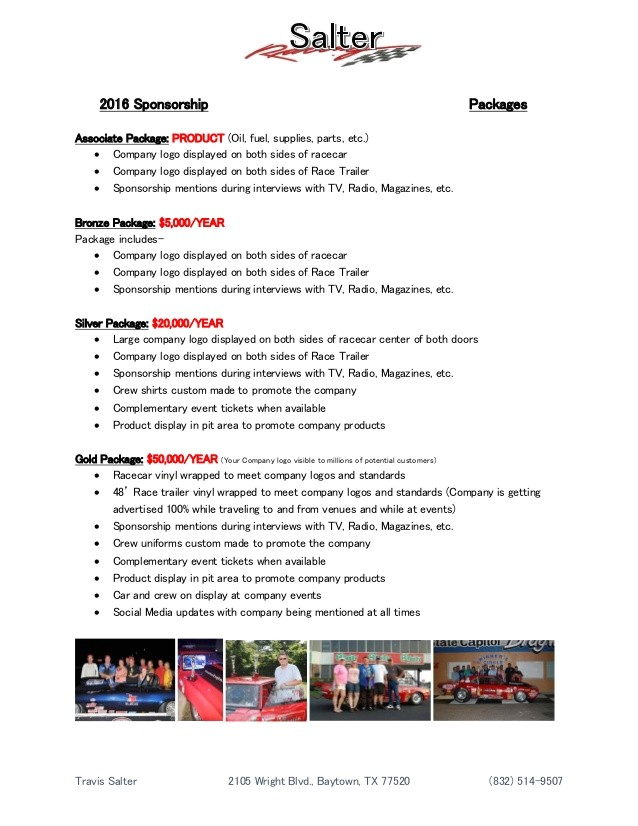 racing resume template