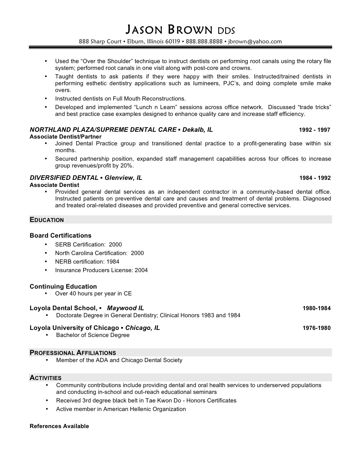 interview questions based on resume