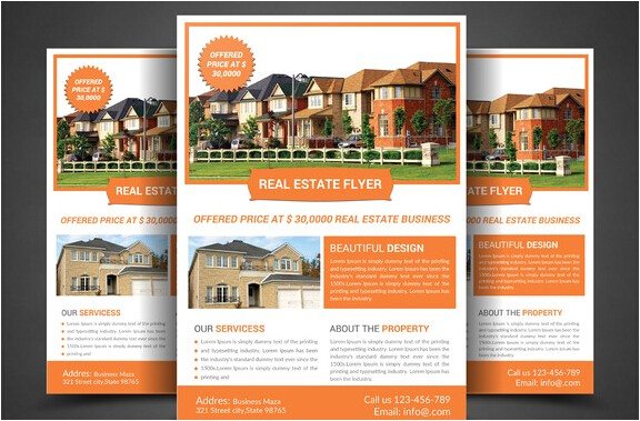 Real Estate Agent Brochure Templates 10 Professional Real Estate Agent Brochure Templates Free