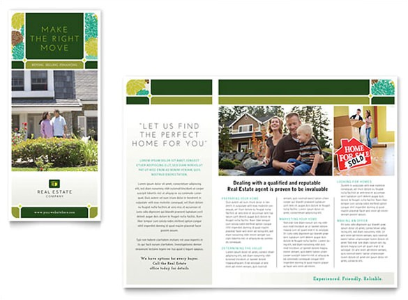 Real Estate Agent Brochure Templates 20 Real Estate Brochures Free Psd Eps Word Pdf