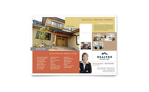 Real Estate Agent Brochure Templates 8 Best Images Of Commercial Real Estate Flyer Templates