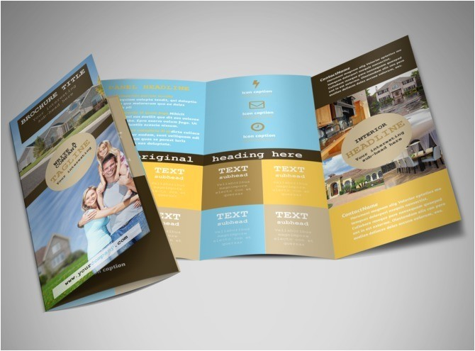 Real Estate Agent Brochure Templates Local Real Estate Agent Brochure Template Mycreativeshop
