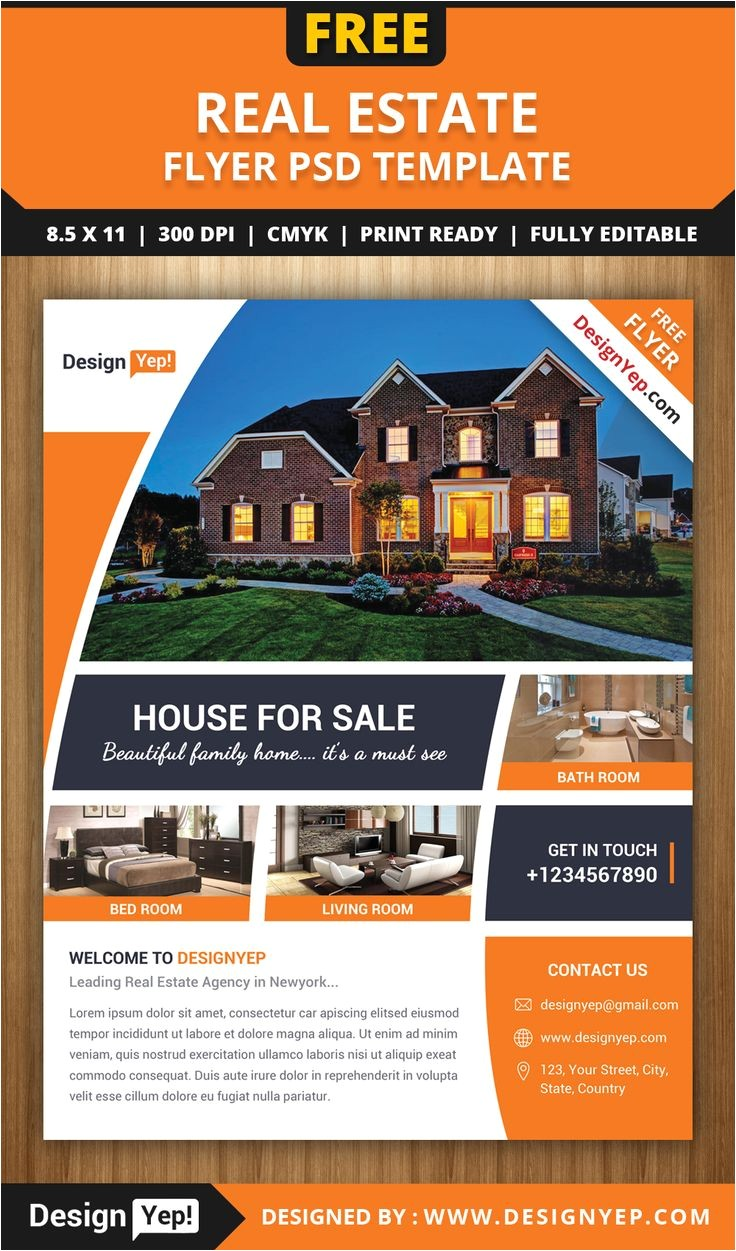 Real Estate Brochures Templates Free 64 Best Images About Free Flyers On Pinterest Flyer