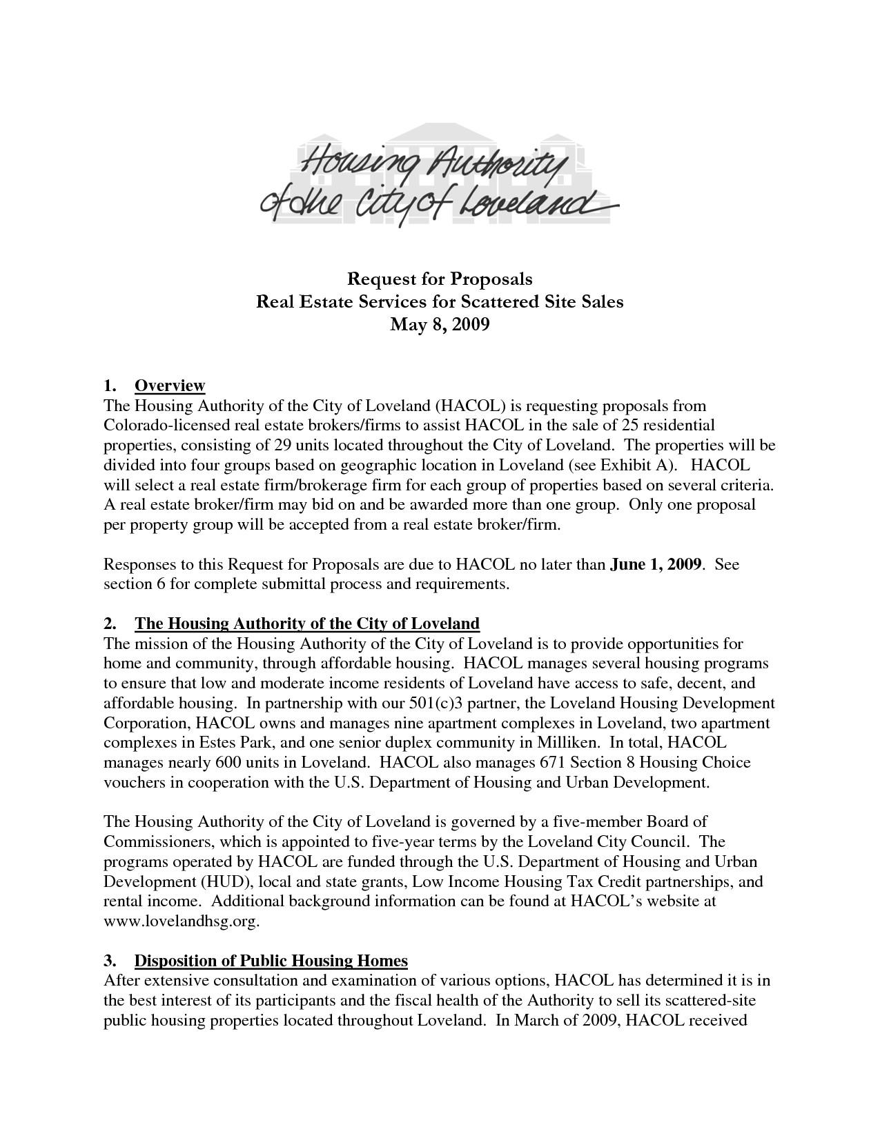 post sample housing proposal 640655