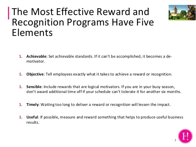 reward and recognition proposal template