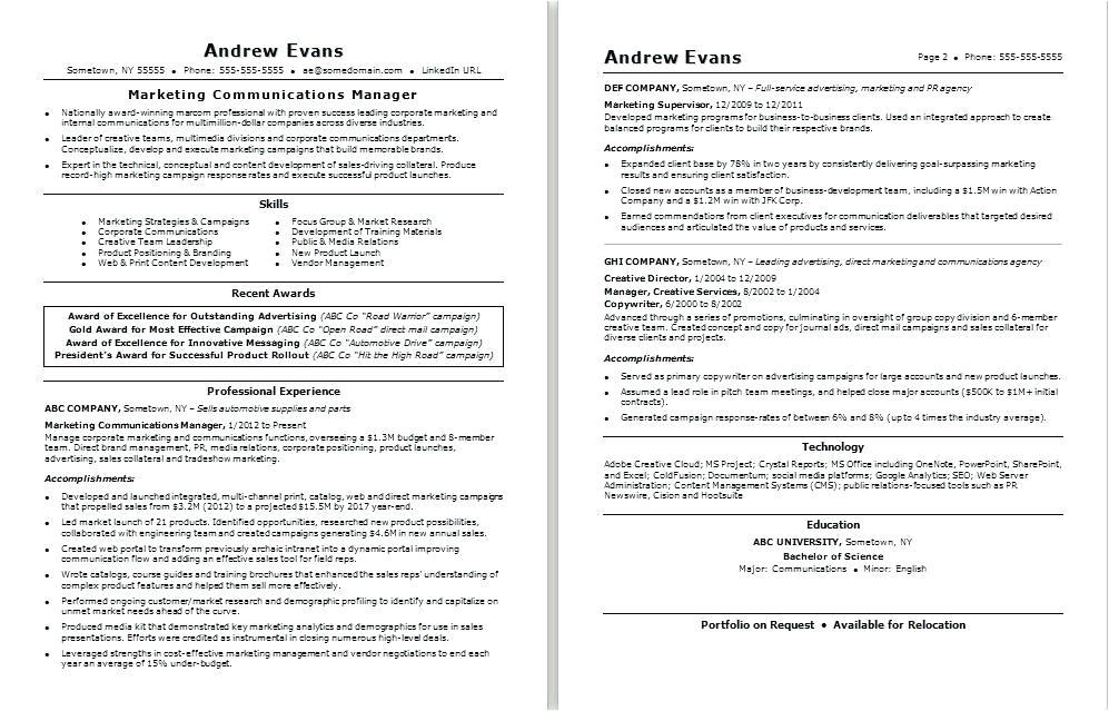 record label resume sample