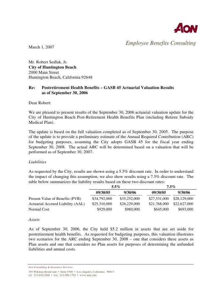 6892 employee benefits proposal template